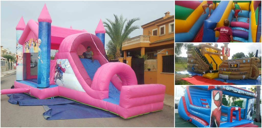 Alquiler de castillos hinchables en Mallorca - Mallorca Big Party