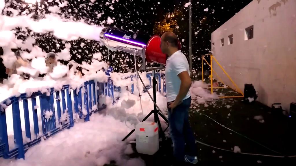 Fiestas de la espuma en Mallorca